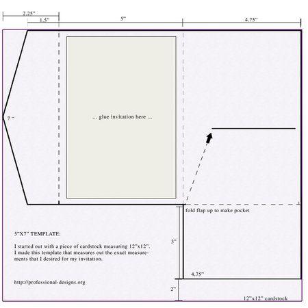 Photo via Template, Wedding and Weddings - a7 envelope template