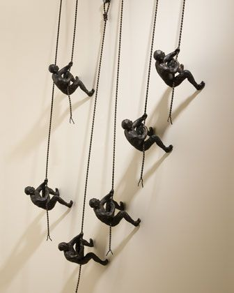 Climbing Men Wall Decor By Global Views At Neiman Marcus