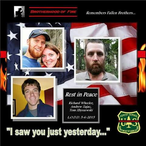 God bless these brave firefighters.