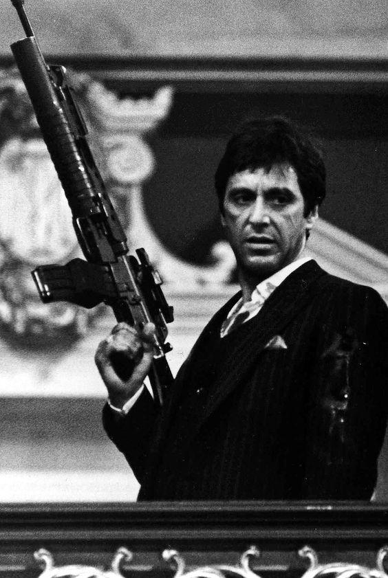 Al Pacino in Scarface Gangster movies, Al pacino