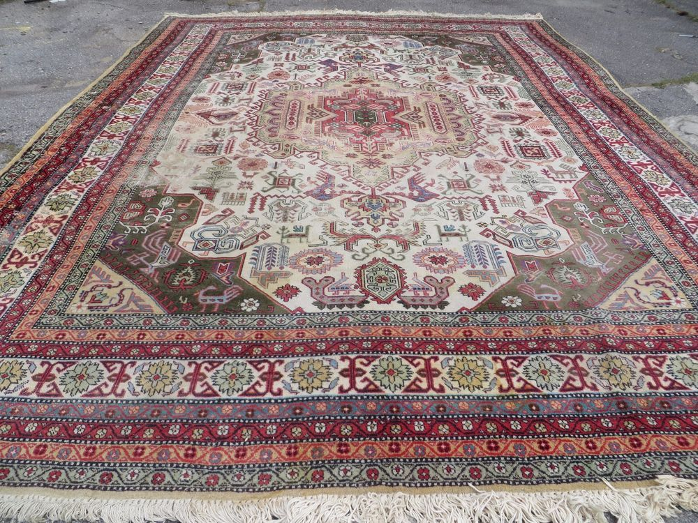 10 X 13 Antique Hand Made Persian