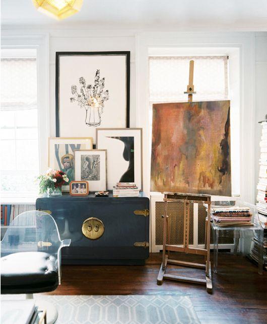 #Design#interior #inspiration {lonny-artist-apartment}