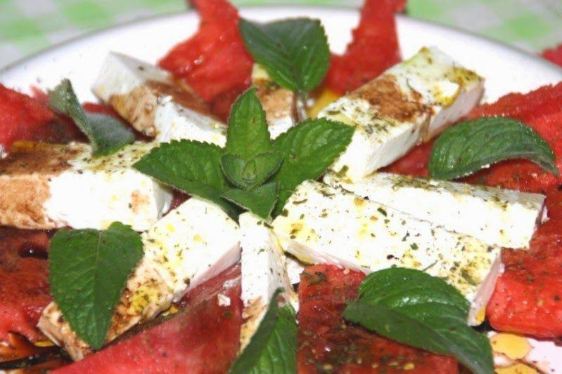 Jolinas Welt: Wassermelone mit Feta