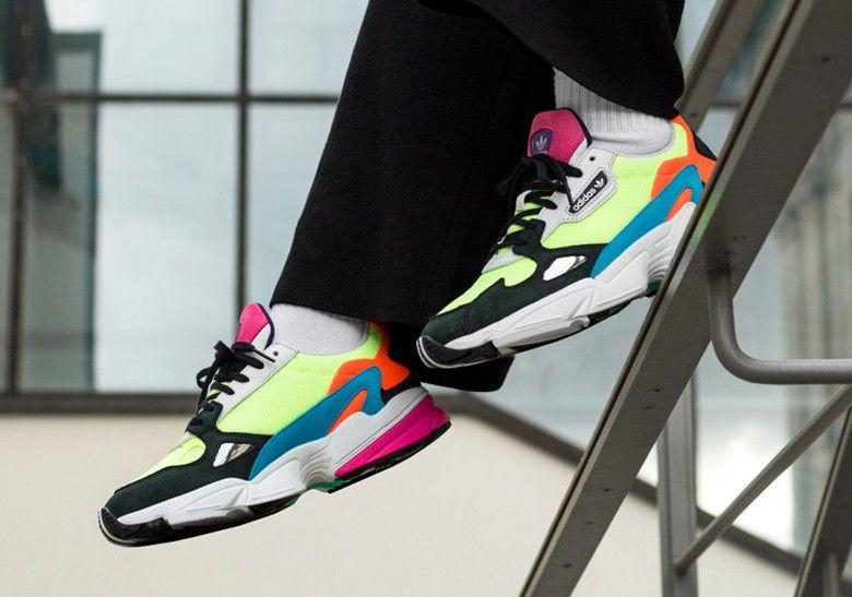 adidas Falcon Women's Neon CG6210 Release Info | Calzado adidas ...