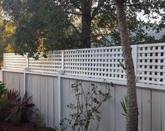 How To Make An Existing Fence Taller Patio Privacy Screen Garden Gates
