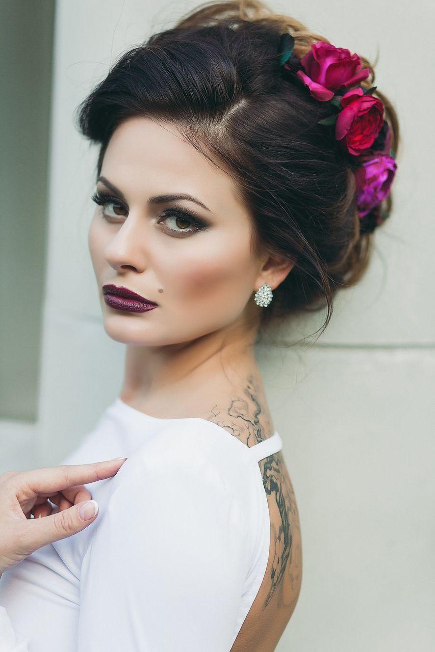 retro bridal hairstyles for long hair - google search | las vegas