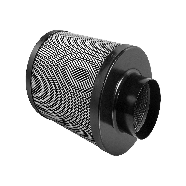 TopoGrow 4 Inline Fan Carbon Air Filter for Grow Tent Kit