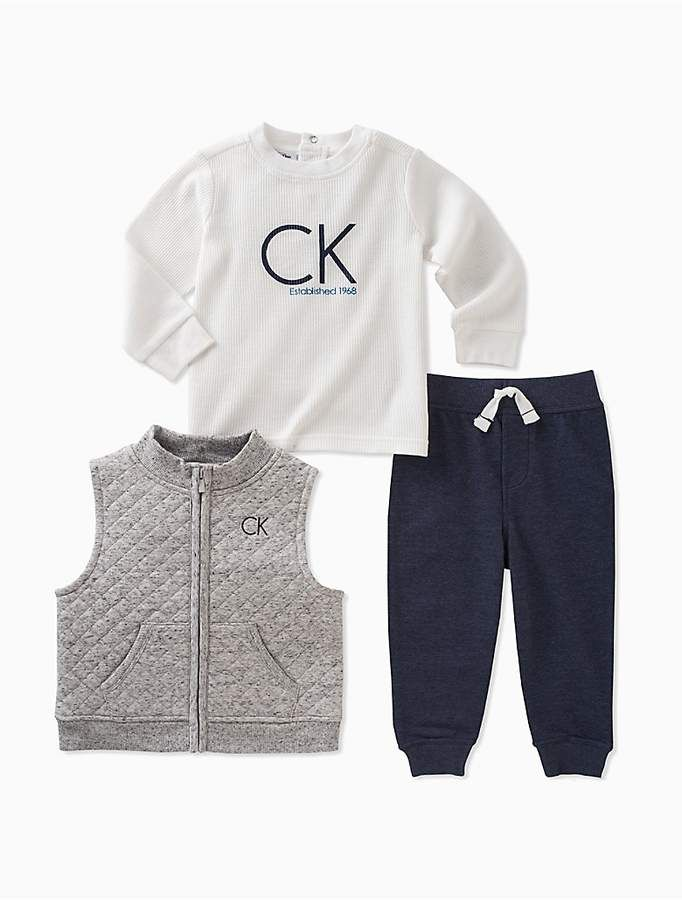 Baby & Toddler Clothing Toddler Boys Ckj Calvin Klein Jeans Pants Navy Blue Size 3t Numerous In Variety
