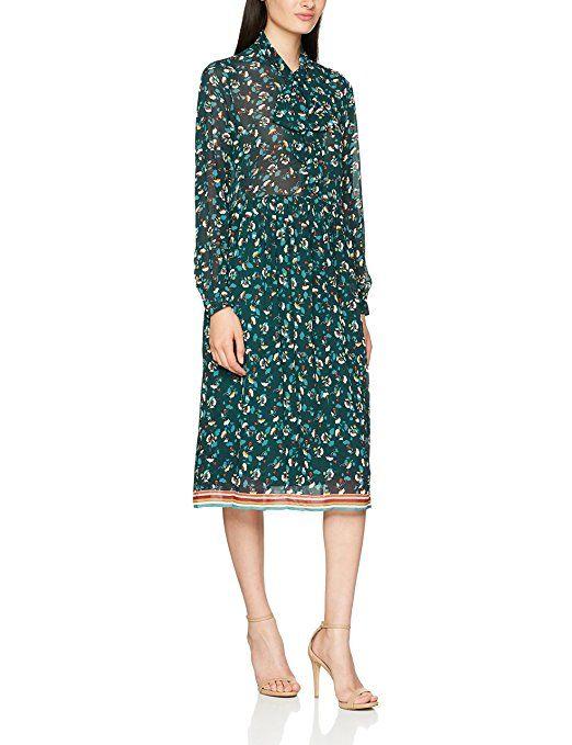 Suncoo Damen Kleid Cesaire, Vert (Vert), Small | Kleider ...