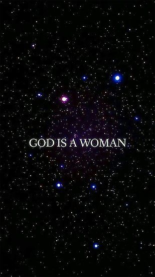 God Is A Woman Photographic Print By Lincolnthedog18 Cool