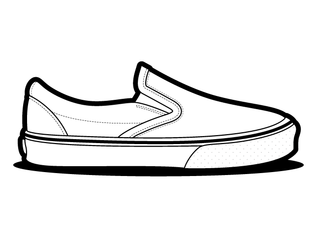Mens Shoes For Coloring