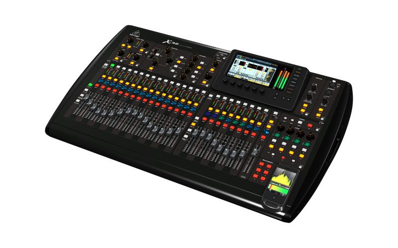 behringer digital mixer x32 available now at audio digital audio. Black Bedroom Furniture Sets. Home Design Ideas