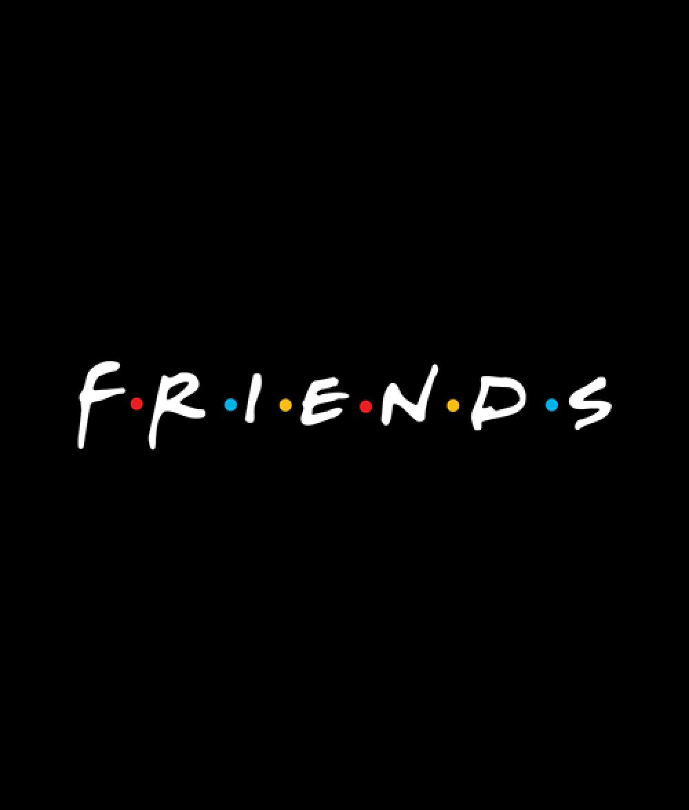 Friends T Shirt Logo Graphic Tees For Men Women in 2020
