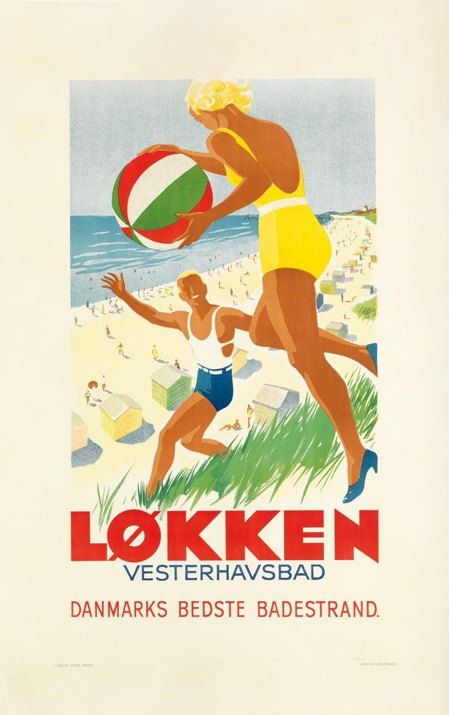 Full Details For Lot 618 Danmark Plakater Illustration