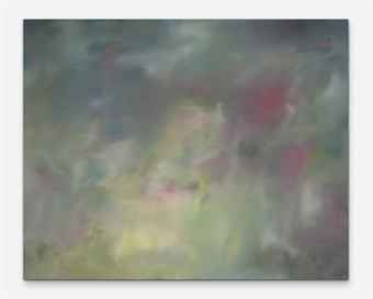 """GERHARD RICHTER (B. 1932) Fiktion (Garten) (Fiction (Garden)) signed, titled, numbered and dated 'Nr. 371 """"Fiktion"""" (garten) Richter, 1975' (on the reverse) oil on canvas 78 ¾ x 98 3/8in. (200 x 250cm.) Painted in 1975"""