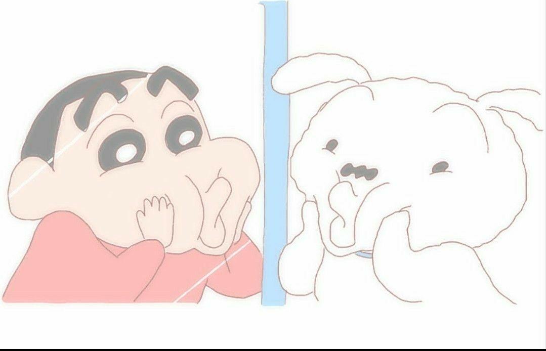 しんちゃん シロ クレヨン