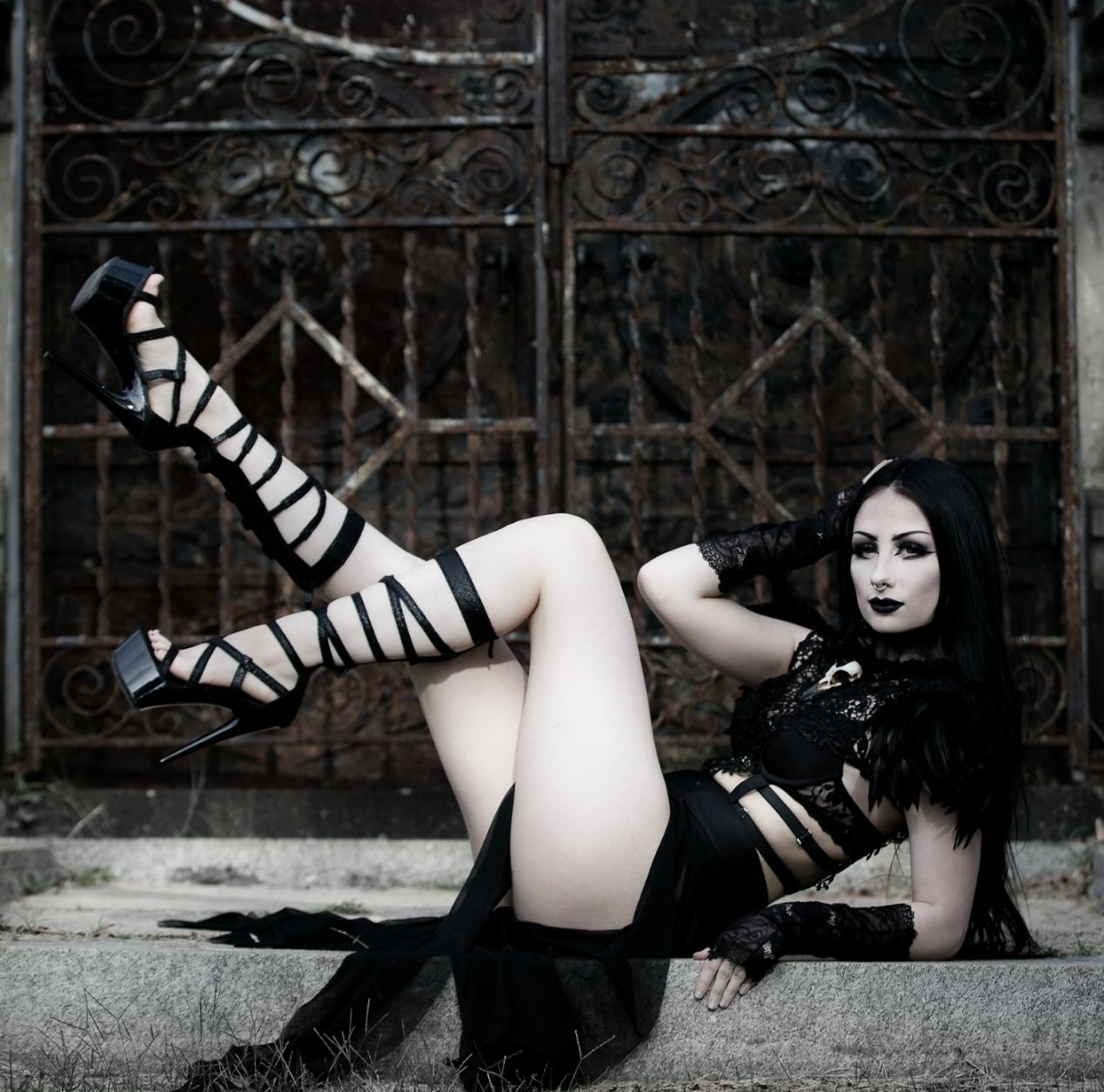 Hot sexy goth girls