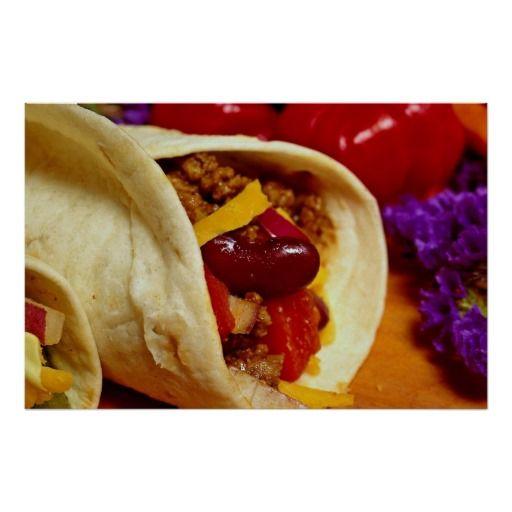 beautiful burrito recipe for food lovers poster