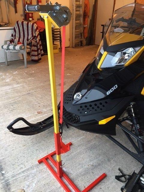 BEST SNOWMOBILE LIFT/STAND EVER! | Snowmobiles Parts, Trailers & Accessories | Winnipeg | Kijiji ...