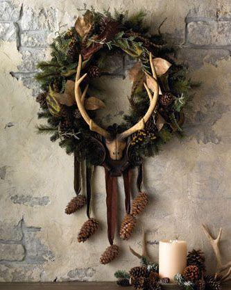Masculine Christmas Tree masculine christmas wreath   masculine home interior, furniture