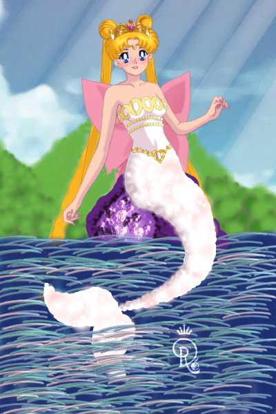 Neo Queen Serenity Mermaid by Serena858 ~ Sailor Moon Dress Up