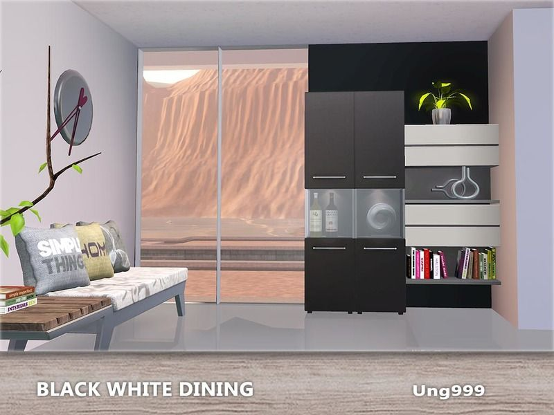 15 items in this modern dining set they are Found in TSR