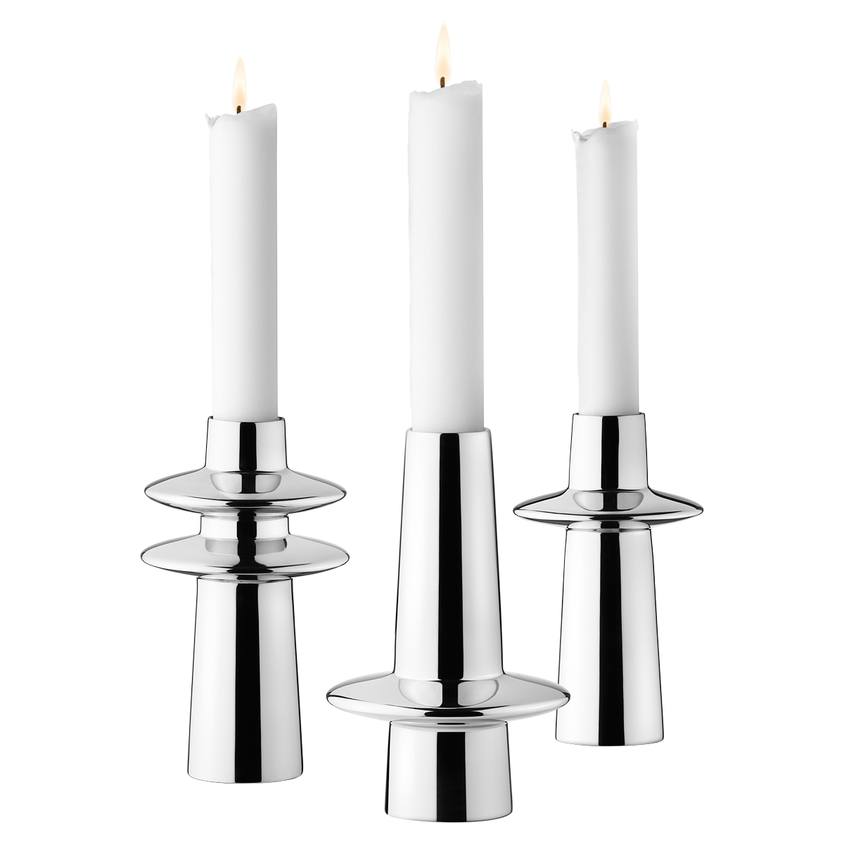 Ellipse Candleholders 3 Pcs Candle Holders Scandinavian Candles Fireplace Candle Holder