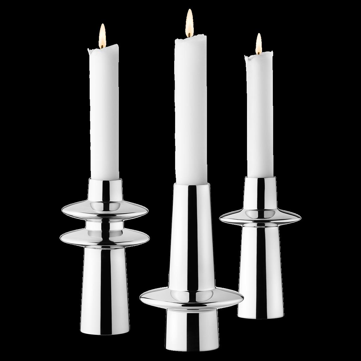 Ellipse Candleholders 3 Pcs Candle Holders Fireplace Candle