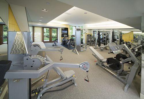 Unique Home Gym Design