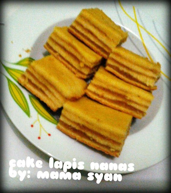 kuliner nusantara cake lapis nanas by evi manurung