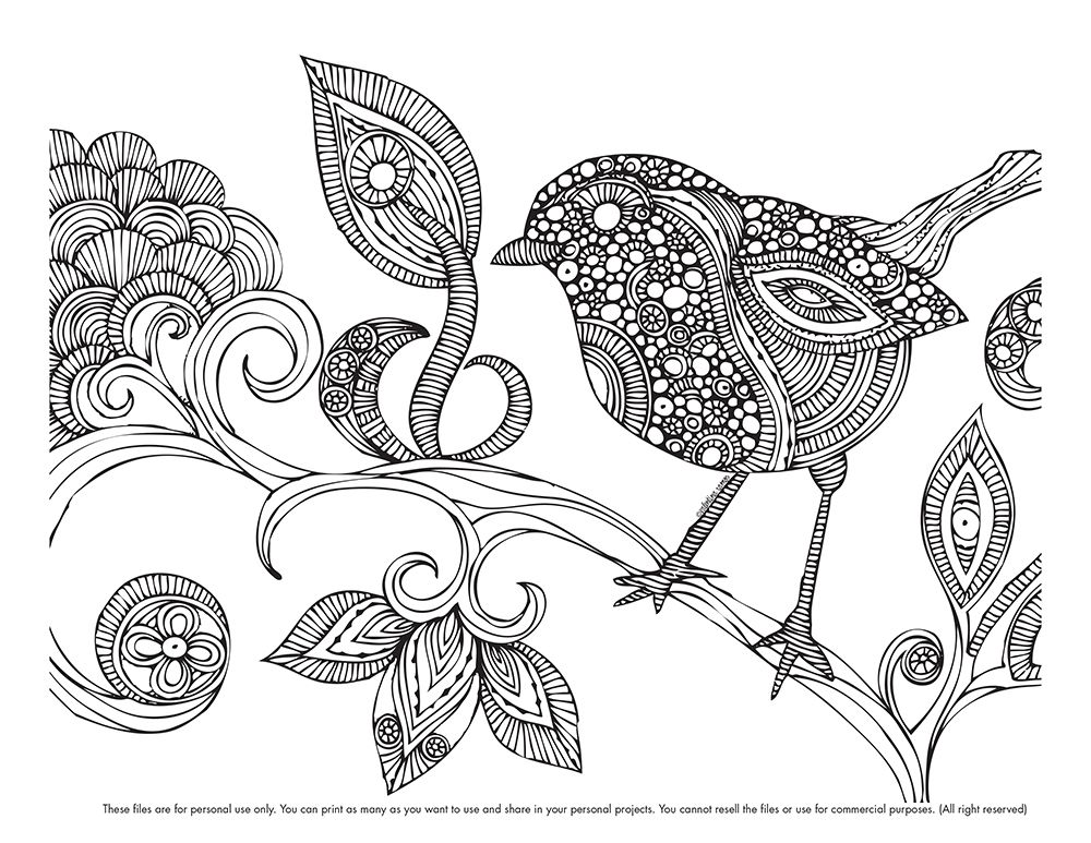 Here Your Coloring Page Valentinadesign
