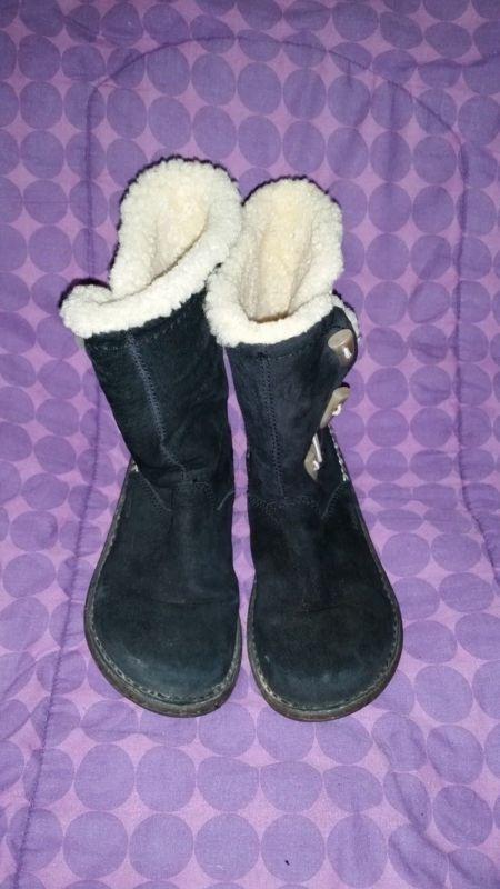 Black Boots Uggs