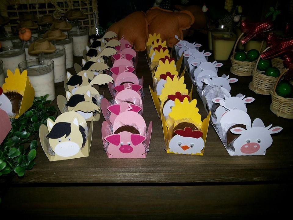 Forminhas de doces para festa!
