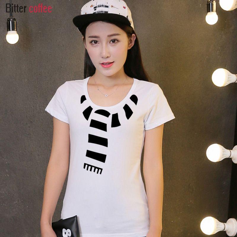 click to buy new summer christmas t shirt women printing print funny