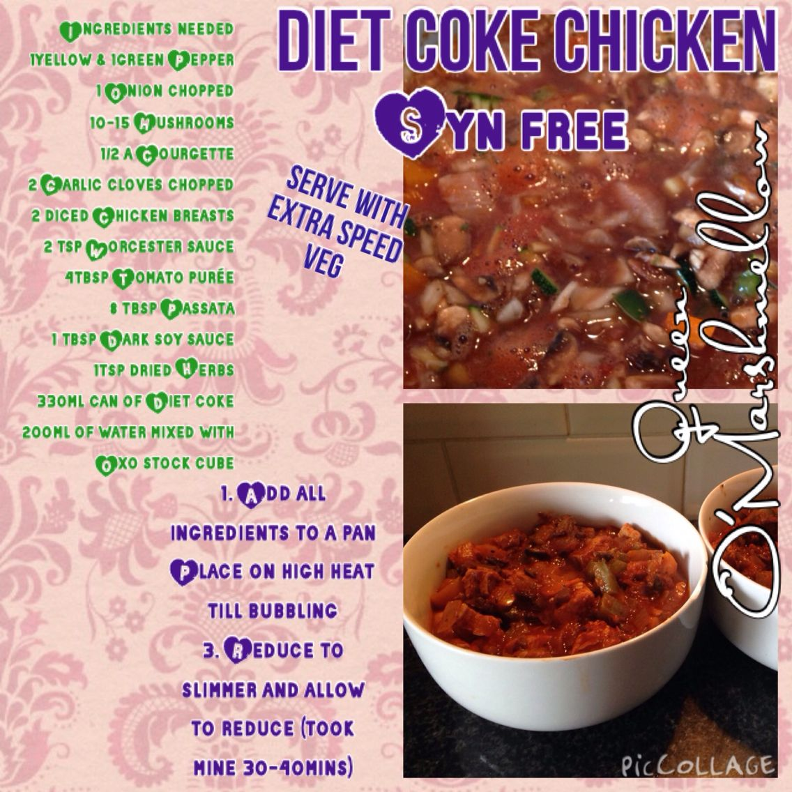 diet coke syn free