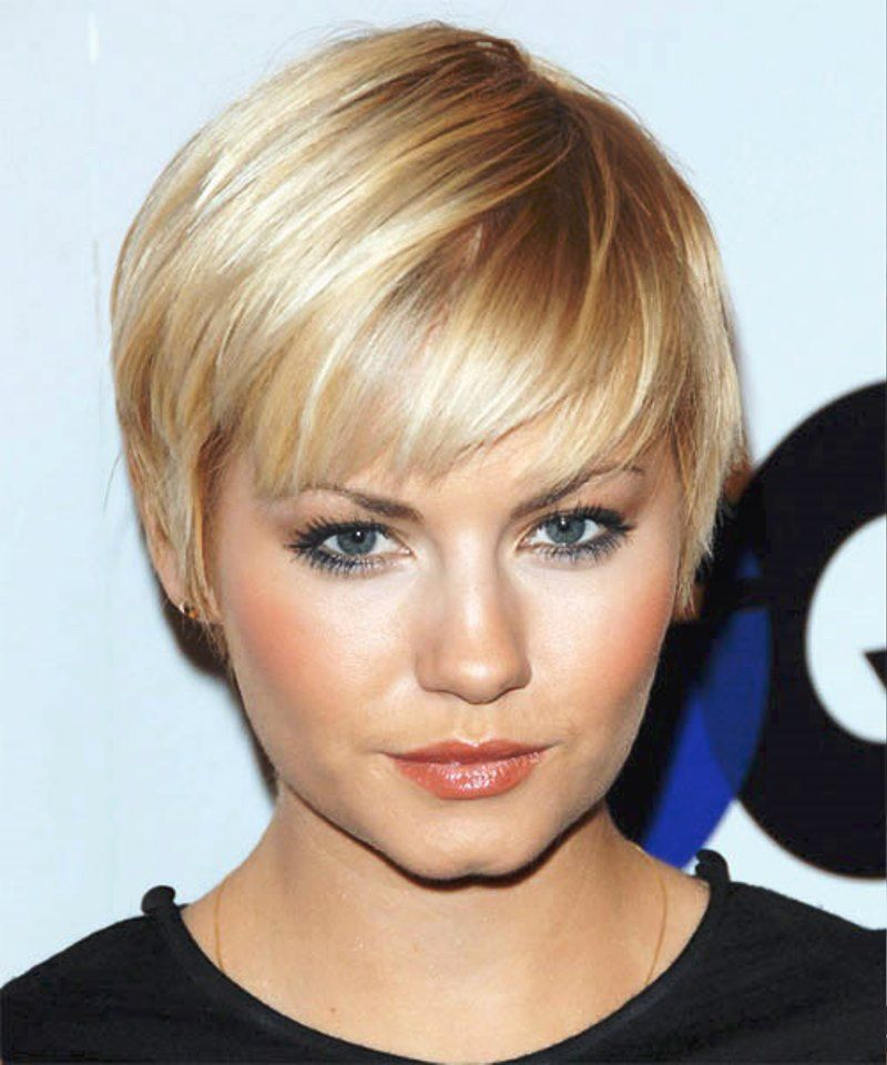 Pictures Of Super Short Hairstyles For Straight Hair Thick Hair Styles Short Hair Trends Thin Hair Haircuts