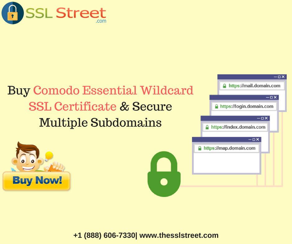 Comodo Essential Wildcard Sslcertificate Protects Your Domain