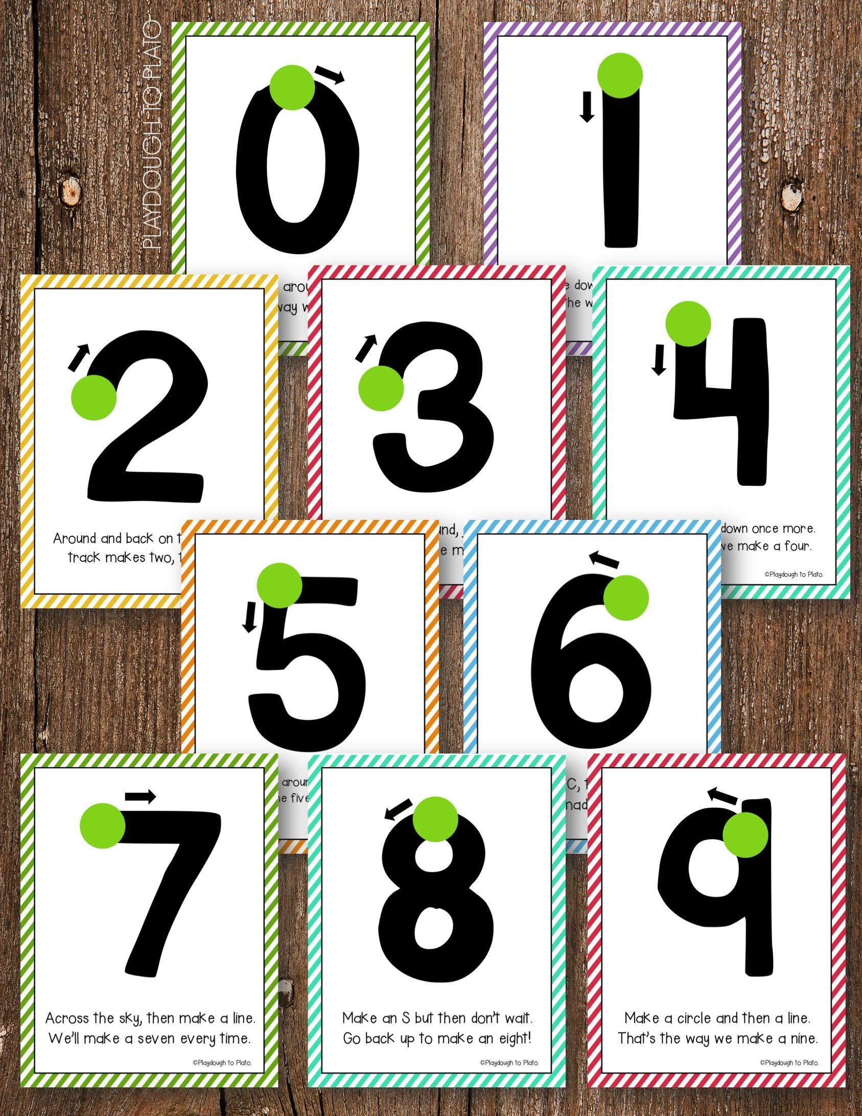 Number formation pack number formation activities and number if youre looking for a motivating easy prep way to teach kids how biocorpaavc Choice Image