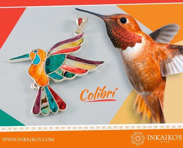 597c203dde4b Inkaiko s - Joyas  Colgante colibrí