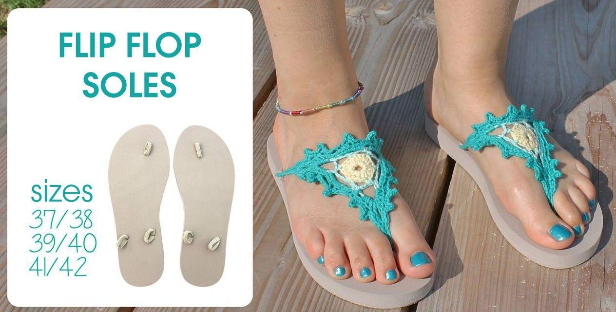 Scheepjes Flip Flop Soles | New Products | Deramores