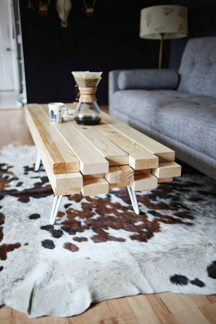 Esstische Holz Ausziehtisch , Tisch Selber Bauen über 80 Kreative Vorschläge Archzine