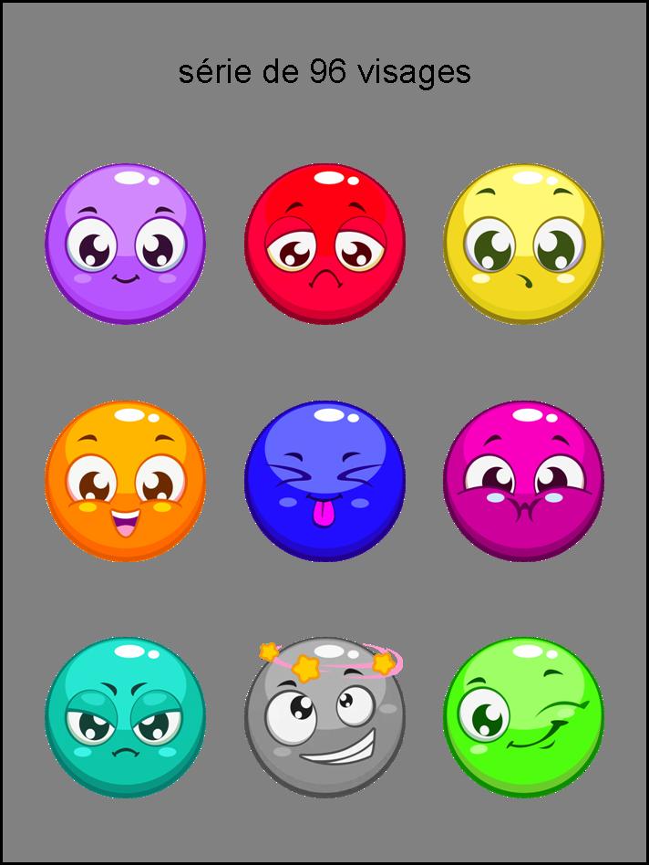 am - collection de visages de toutes les couleurs