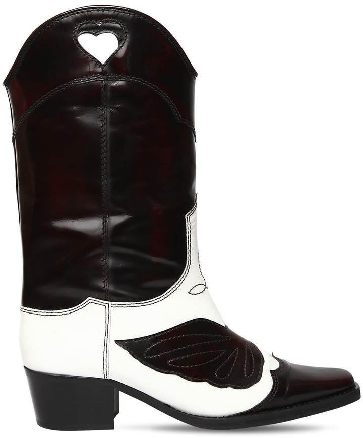 U toe Cowboy Boots