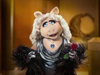 """There is only one gift you should accept on your first date. Diamonds."" ~Miss Piggy"