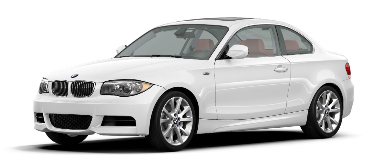 BMW 135i with red leather interior, but I would have black