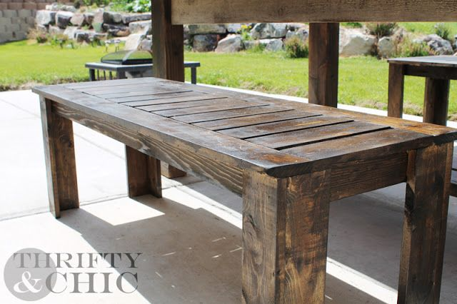 wooden benches outdoor plans Make a Concrete and Wood Bench with CHENG Outdoor Concrete Mix and wooden benches outdoor plans b Simple Elegant - Luxury outdoor wood bench plans Contemporary