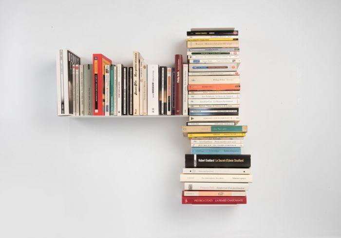 Estante asimétrico para libros \