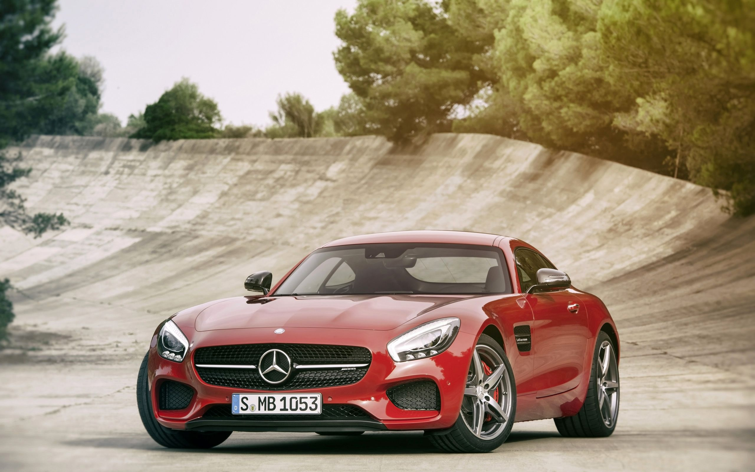 2015 Mercedes AMG GT 4 Wallpaper HD Car Wallpapers