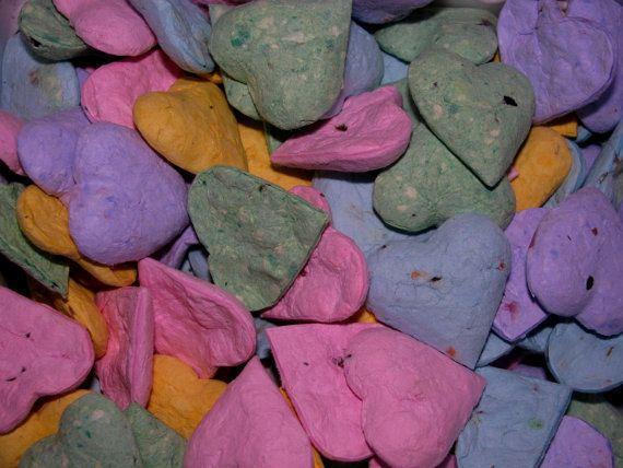 Wedding Favor Pastel Heart Shaped Wildflower Seed Bombs By Davita 15 00 Www Davita Etsy Com Custom Wedding Favours Wedding Favors Wildflower Seeds
