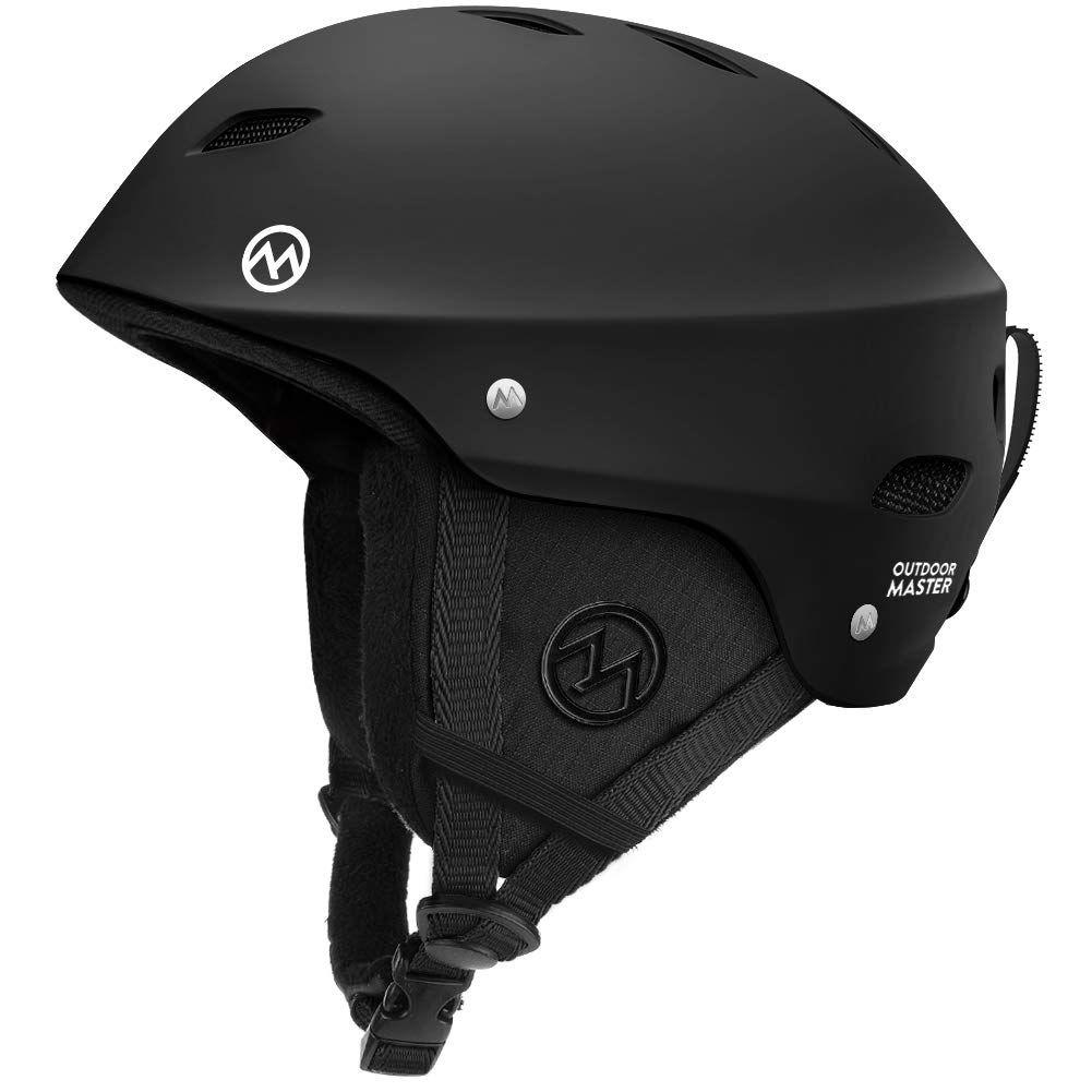 Astm certified safety ski helmet built for both comfort